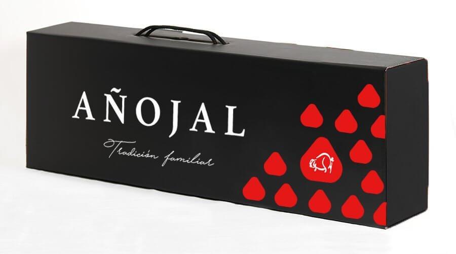 caja de añojal packaging